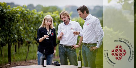 Weinkellerei Tim Strasser - Rothes Gut Meissen